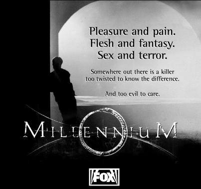 Millennium print ad image for Loin Like a Hunting Flame.