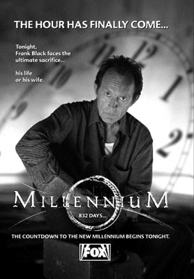 Millennium print ad image for The Beginning and the End.