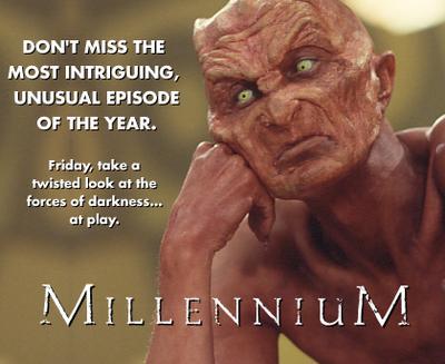 Millennium print ad image for Somehow, Satan Got Behind Me.