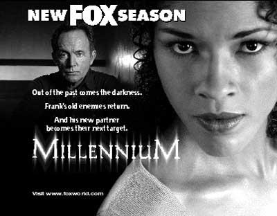 Millennium print ad image for Exegesis.