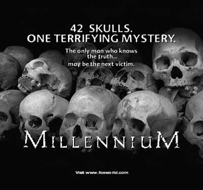 Millennium print ad image for Skull and Bones.