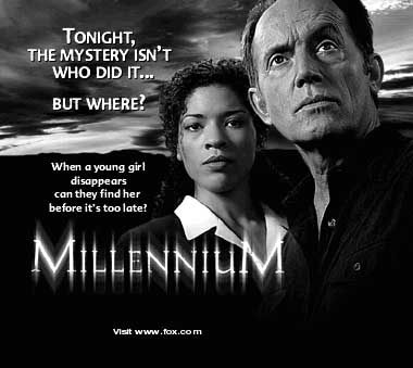 Millennium print ad image for Through a Glass, Darkly.