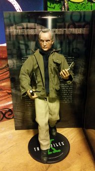 Frank Black figure posed