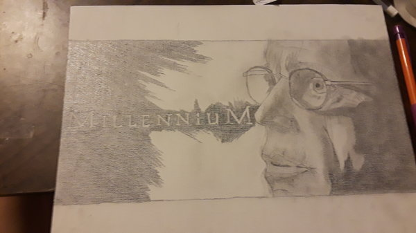 My new Millennium drawing