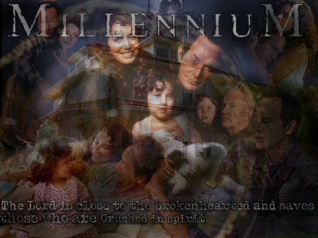 Millennium Black family wallpaper
